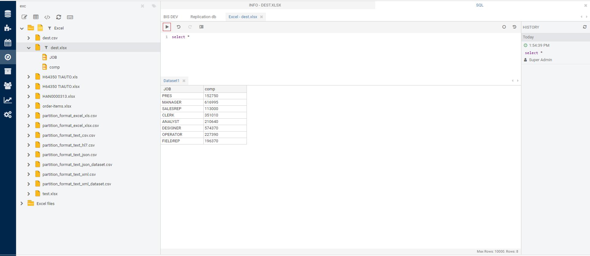 Using SQL editor – Etlworks Support