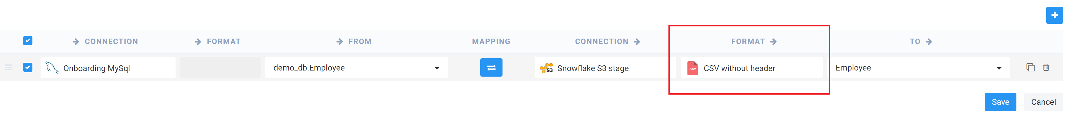 Loading data in Snowflake – Etlworks Support