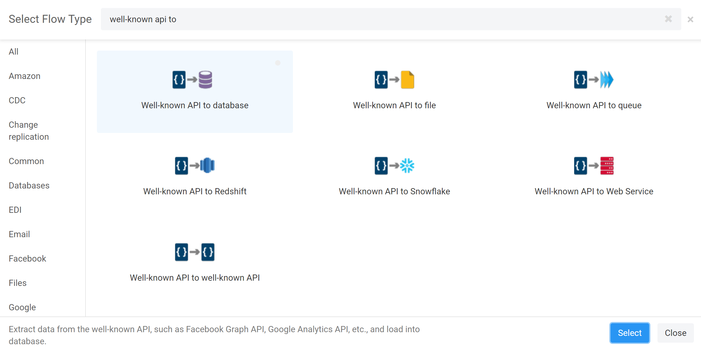 Working with Facebook – Etlworks Support